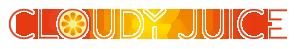 Cloudy Juice Sticky Logo